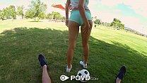 POVD - Sexy HOT girls fucked POV style thumbnail
