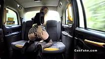 Dutch blonde bangs British taxi driver Preview