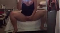 [gina carano nude] lady masturbates in front of the mirror thumbnail