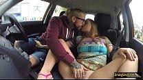 Olga Cabaeva pounded inside the FDS car