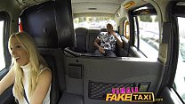 FemaleFakeTaxi Creampie from black guy, cheatin... thumb
