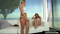 Horny Girls (Aj Applegate & Harley Jadehot) Playing In Lesbian Sex Games clip-02