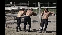 Hot Stableboys Take a Fuck and Suck Break