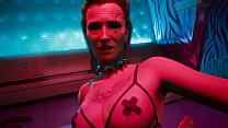 Cyberpunk 2077 Meredith Stout Romance Scene Unc