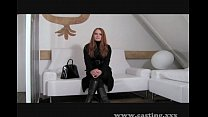 Casting - Redhead is ready to go all the way pornhub video