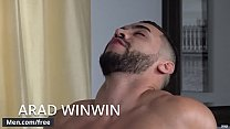 Men.com - Arad Winwin and Dennis West - Soap Studs Part 1 - Drill My Hole - Trailer preview