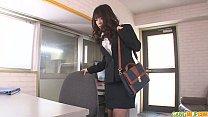 Office Babe Chinatsu Gives An Asian Blowjob At Work