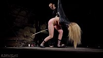 6784 Tied up teen slave screaming in pain bondage and BDSM sex preview