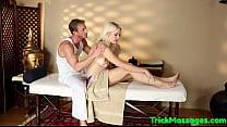 Bigtitted massage babe plowed and jizzsprayed pornhub video