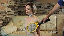 Lovely blonde punished by her Master. porn image