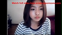 Cute Korean Girl on Web Cam - Watch full video here amateurpornzone.com video