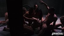 THE MOST INSANE 9 VS 1 GROUP ROUGH SEX ORGY MARATHON YOU HAVE EVER SEEN! - Featuring: Dani Daniels / Carmen Callaway / James Deen / Jessica Ryan / Janice Griffith / Carmen Caliente & MORE!'s Thumb