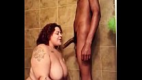 Queen Marie Gets Dicked Down In The Shower thumbnail