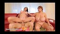 Sexy MILF Samantha 38G And Sexty GILF Rita Daniels