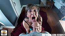 Sexy Milf Marie BJ CUM Compilation