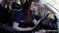 Hot Matilda Masturbating While Driving thumbnail