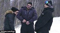 Winter XXX Games Part 3 Scene 1 featuring Alex Neveo and Bo Sinn and Ryan Bones - BROMO