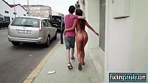 Amirah Adara fucks with bf in public