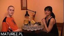 Polskie mamuśki - Student posuwa nauczycielkę od niemieckiego