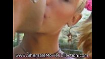 Teen Shemales Drilled!