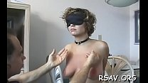 Lad does total bdsm nipple torture on this wanting wench