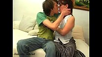 Image: Mother seduce young boy