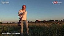 My Dirty Hobby - Hot public blowjob on the beach Vorschaubild