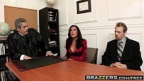 Brazzers - Big Tits at Work - Is It a Penal Offense scene starring Veronica Avluv and Erik Everhard image