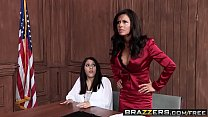 Brazzers - Big Tits at Work - Is It a Penal Offense scene starring Veronica Avluv and Erik Everhard Preview
