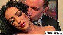 (breanne benson) Sex In Office With Big Melon Juggs Slut Girl clip-08