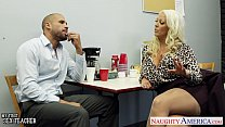 Hot sex teacher Alura Jenson fucking a large shaft