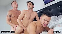 (Johnny Rapid, Beaux Banks, Justin Matthews) - Men Bang Part 3 - Men.com