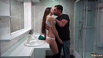 Old young porn - Smoking hot teen fucks older man gets facial cumshot