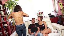 Brunnette threesome casting fuck blowjob - Sandra Red - Mar Durán Vorschaubild