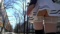 Look under my skirt. Jeny Smith spinning in a m... Thumbnail