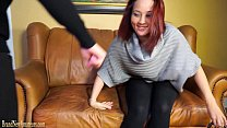 Casting couch amateurs go lesbian in dual interview thumbnail