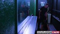 Image: DigitalPlayground - Girls Go Clubbing Adria Rae and Natalia Starr and Tony Martinez