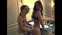 GIRLS GONE WILD - Two Young Lesbian Friends Lic...