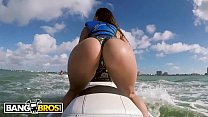 BANGBROS - Latina Pornstar Kelsi Monroe Shows Off Big Ass, Rides Jetski and Cock! porn image