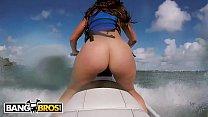 BANGBROS - Latina Pornstar Kelsi Monroe Shows Off Big Ass, Rides Jetski and Cock! - 9Club.Top
