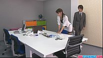 Free download video bokep Japanese offce chick fucked hard and loaded wit...