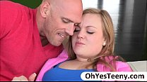 Big rack teen Summer loves guy with a big cock for a hardcore sex