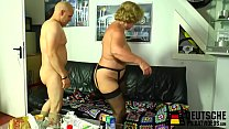 Blonde granny with big tits preview image