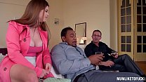 Curvy Milf Lucia Love Double Penetrated By Husb...