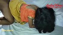 Indian Anita bhabi ko kuteya banaker choda yellow saree me