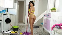 BANGBROS - Big Booty Latin Maid Canela Skin Gets It In The Ass From Pablo Ferrari's Thumb