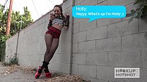 Holly Hendrix Gets Anally Destroyed  Hookup Hotshot - 9Club.Top
