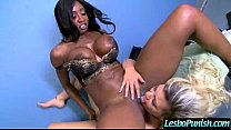 (alex&diamond) Superb Lesbians In Hard Punish Sex Action Using Toys clip-06