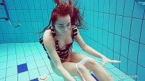 Hot Russian underwater babe Nina Mohnatka