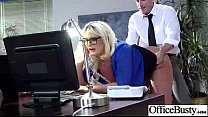 Worker Busty Girl (julie cash) Get Sluty And Ba...
